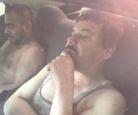 Circula en redes sociales fotos de recaptura del Chapo Guzmán