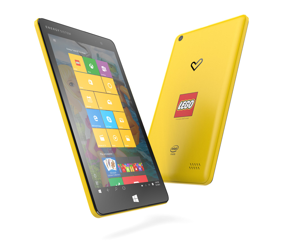 energy tablet lego edition Energy Tablet 8 Windows Lego Edition: un tablet para toda la familia
