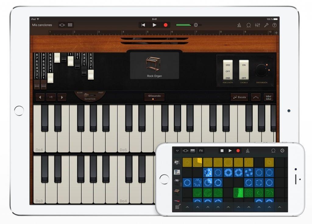 Apple presenta Bloc Musical, una app para músicos - garage-band