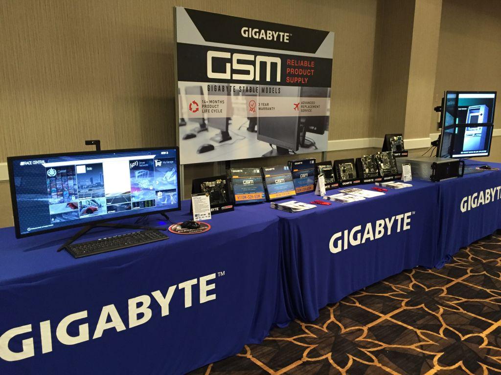 gigabyte presenta sus motherboards nueva generacion de su linea brix ces GIGABYTE Presenta sus motherboards y la nueva generación de su línea BRIX en el CES