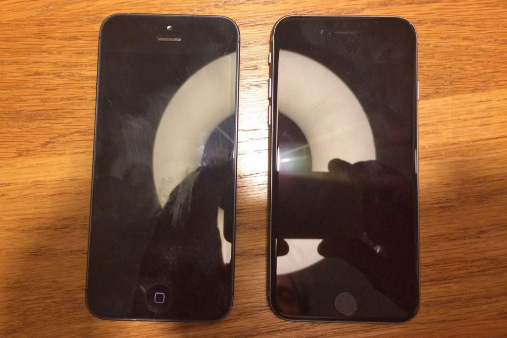 Se filtra una supuesta foto del iPhone 5se - iphone-5se-leak-one-more-thing