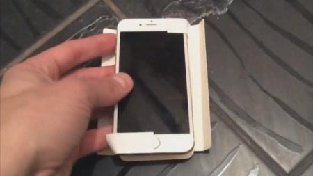 El iPhone pequeño se filtra en video.