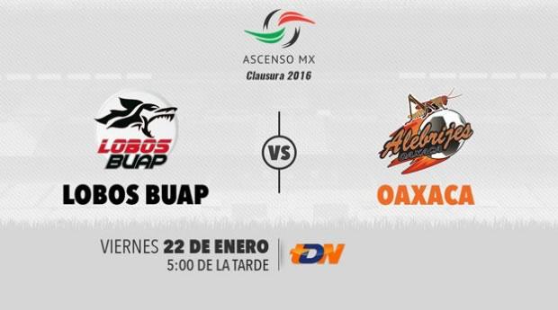 Lobos BUAP vs Alebrijes, Ascenso MX Clausura 2016 | Jornada 3 - lobos-buap-vs-oaxaca-clausura-2016-tdn