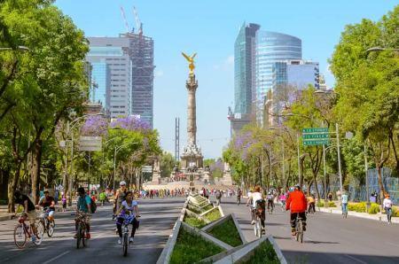 Las mejores ciudades para ciclistas en México