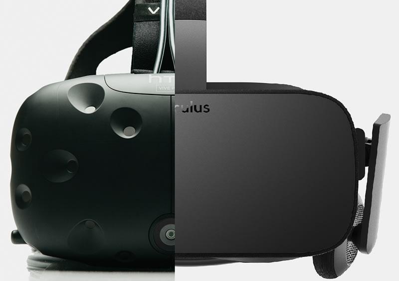 Qué podemos esperar de Oculus Rift y de que manera influenciará Facebook - oculus-vs-htc-vive