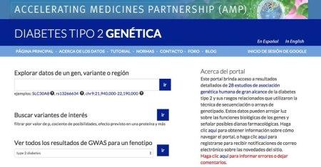 Fundación Carlos Slim lanza portal con información genética sobre la Diabetes tipo 2