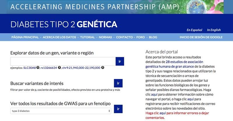 Fundación Carlos Slim lanza portal con información genética sobre la Diabetes tipo 2 - portal-informacion-genetica-diabetes-tipo-2