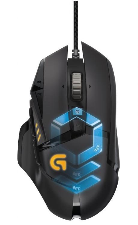 Logitech lanza el G502 Proteus Spectrum, el ratón para gaming con RGB ajustable - proteus-spectrum_1-e1453144491949
