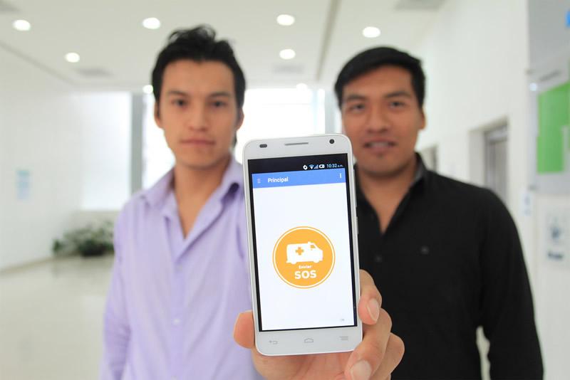 Crean app que llama a una ambulancia en segundos - rescapp-llamar-ambulancia