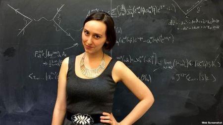 Sabrina González, la 'nueva Einstein' latina