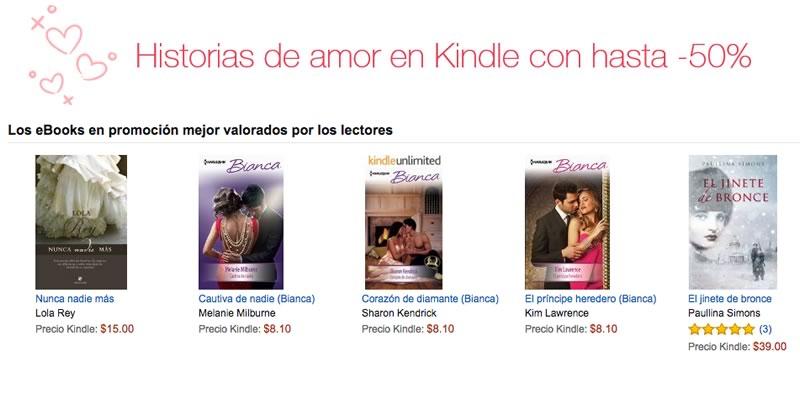 Celebra el mes del amor con libros, gracias a las ofertas de Amazon Kindle - amazon-kindle-mes-del-amor