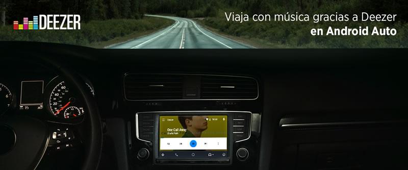 Deezer anuncia su llegada a Android Auto - android-auto