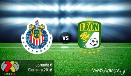 Chivas vs León, Jornada 6 del Clausura 2016 ¡En vivo por internet!