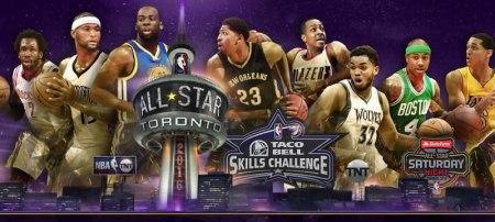 Concursos del juego de estrellas de la NBA 2016 ¡En vivo por internet!