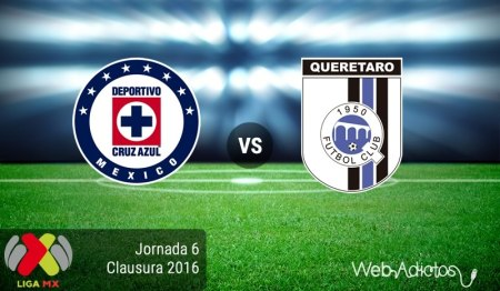 Cruz Azul vs Querétaro, Liga MX Clausura 2016 ¡En vivo por internet!