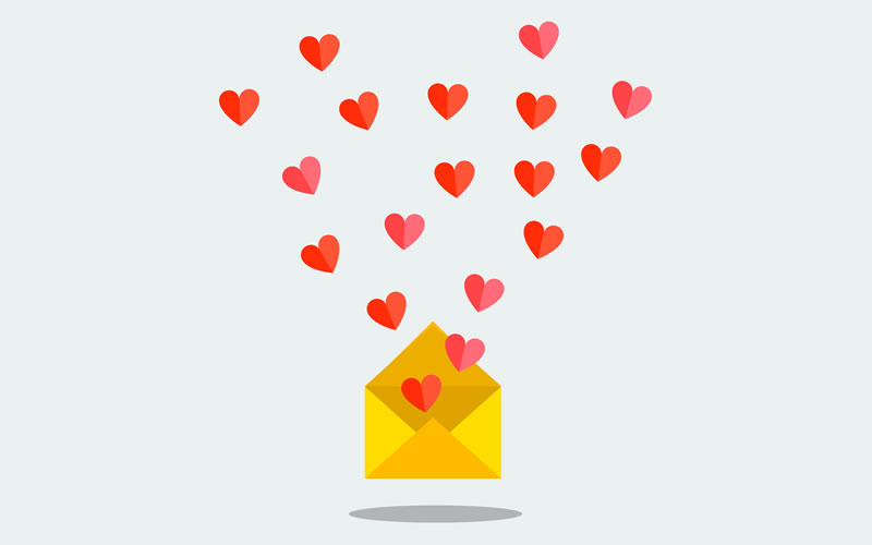 Estas son las tendencias de email marketing en San Valentín según GoDaddy - email-marketing-en-san-valentin