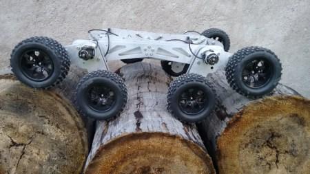Desarrolla estudiante mexicano Robot rescatista inspirado en el Curiosity
