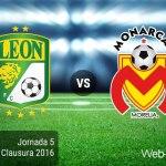 León vs Morelia, Jornada 5 del Clausura 2016 ¡En vivo por internet!