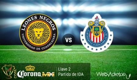 Leones Negros UDG vs Chivas, Copa MX Clausura 2016
