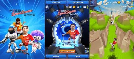 Messi Space Scooter, el nuevo juego de Lionel Messi para iOS y Android