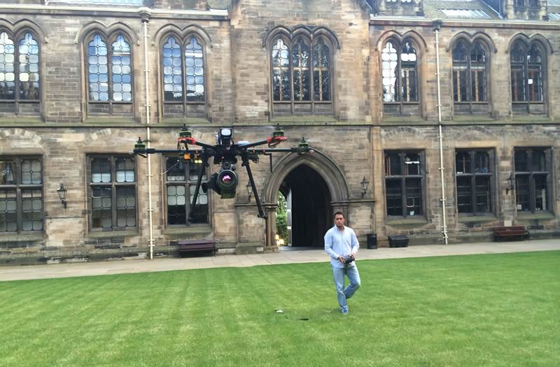 Mexicano en Escocia programa drones para que vuelen con carga - mexicano-drones-con-carga