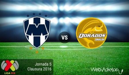 Monterrey vs Dorados en el Clausura 2016 ¡En vivo por internet!