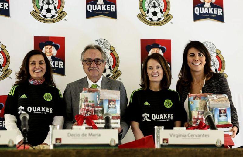Quaker y la Selección Nacional de México se unen en favor de la nutrición - qs3-800x517