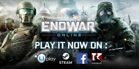 Tom Clancy´s Endwar online disponible en Steam, facebook y Kongregate