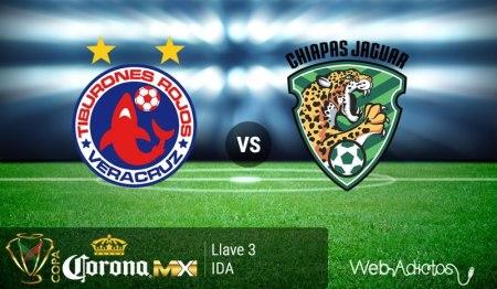Veracruz vs Chiapas, Llave 3 de la Copa MX Clausura 2016