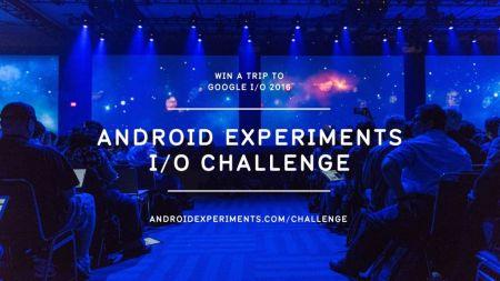 Android Experiment Challenge te permitirá ganar un viaje al Google I/O
