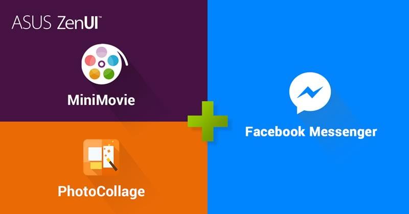 ASUS MiniMovie y PhotoCollage se integran con Facebook Messenger - asus-minimovie-y-photocollage