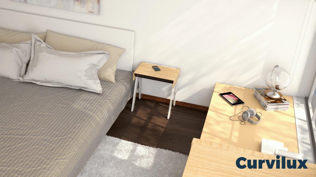 Curvilux, el primer mueble inteligente del mercado - curvilux-context-day