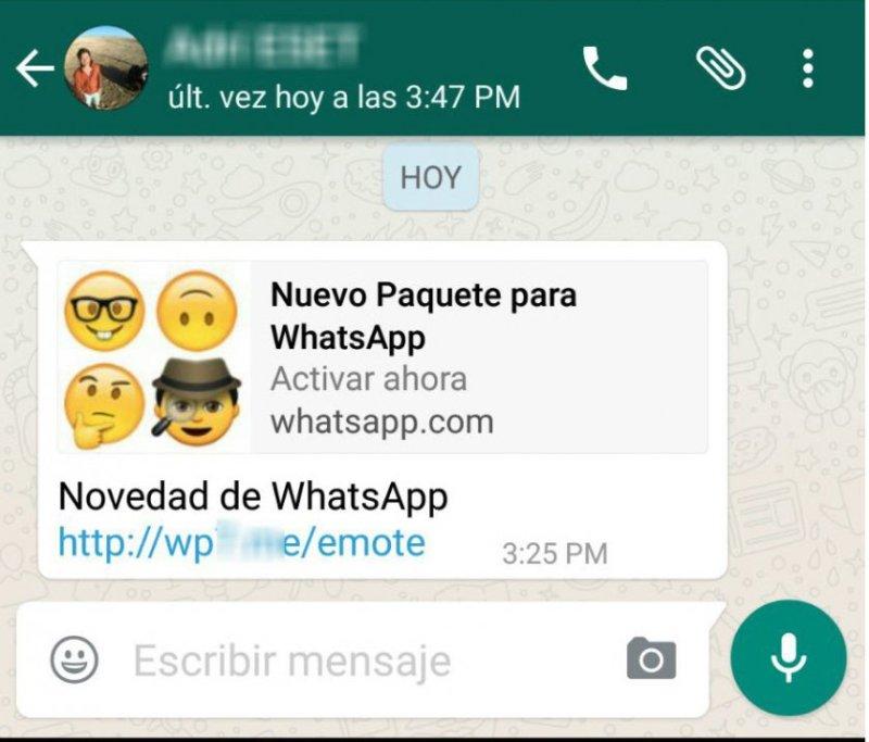 Paquetes de emojis de WhatsApp son una nueva forma de estafa - emojis-infecciosos