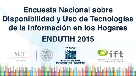 Hay 62.4 millones de usuarios de Internet en México según INEGI