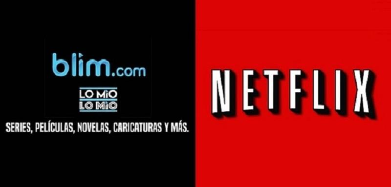 Televisa retirará sus contenidos de Netflix para ser exclusivos de Blim - netflix-y-blim-800x383