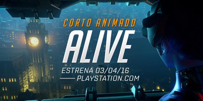 ALIVE, el nuevo Corto Animado de Overwatch llega en abril - segundo-corto-animado-de-overwatch
