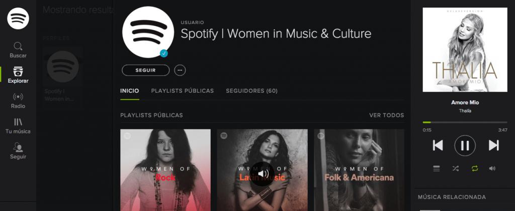 Spotify rinde homenaje a las mujeres mexicanas con música - spotify-conmemora-a-las-mujeres-en-su-dia-con-musica