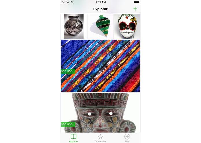Tianquis, aplicación que busca apoyar a los artesanos gana el Hackamano 2016 - tianquis