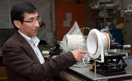 Investigador mexicano crea topógrafo corneal de alta competitividad