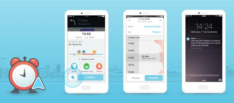 Waze lanza Planned Drives para calcular tus rutas y llegar a tiempo siempre - waze-planned-drives