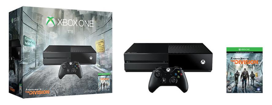 Se estrena el Bundle de Tom Clancy´s the Division exclusivo para Xbox One - xbox-consola-bundle
