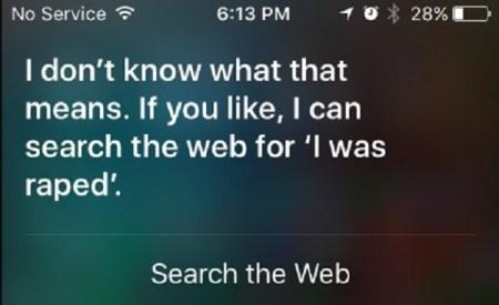 Actualización de Siri ofrecerá apoyo a usuarios víctimas de abuso sexual