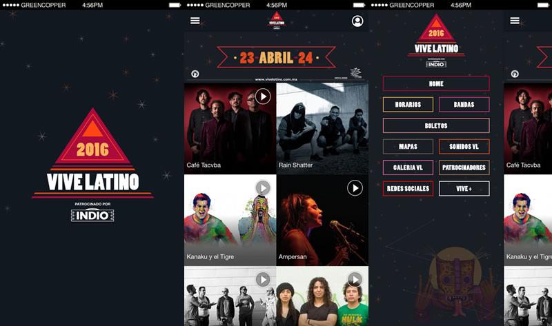 Descarga la App del Vive Latino 2016 y entérate de todo sobre el festival - app-vive-latino-2016