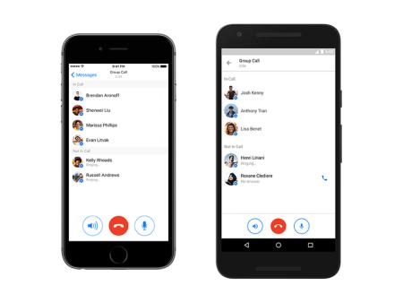 Facebook habilita las conferencias telefónicas en Messenger