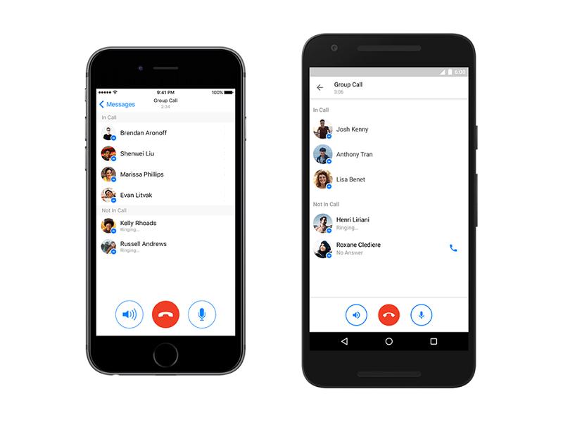 Facebook habilita las conferencias telefónicas en Messenger - facebook-messenger-llamadas-grupales-800x600