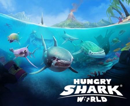 Ubisoft anuncian el estreno de Hungry Shark World