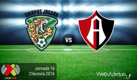 Jaguares vs Atlas ¡En vivo por internet! | Fecha 16 del Clausura 2016
