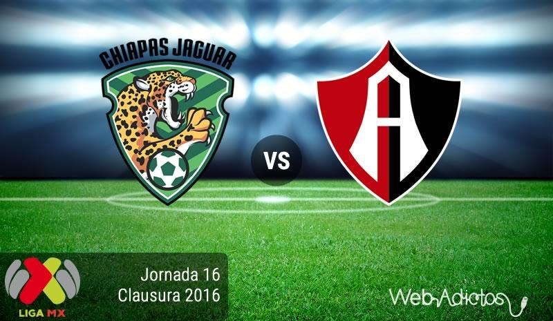 Jaguares vs Atlas, Jornada 16 del Clausura 2016 | Resultado: 0-3 - jaguares-vs-atlas-jornada-16-del-clausura-2016