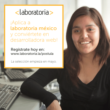 Laboratoria México abre convocatoria y busca coders