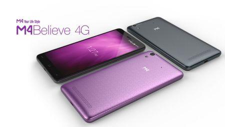 M4 presenta nuevo smartphone Believe